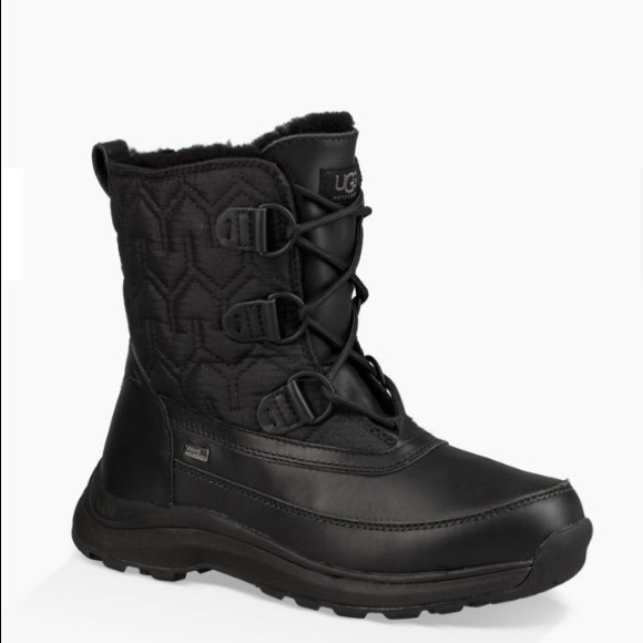 1c25cf44bcc ✨NEW UGG LACHLAN BLACK Snow Boots Waterproof NWT